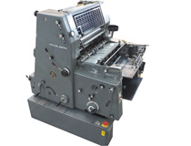 Heidelberg GTO 52 single colour